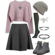 comfort in pink-gray