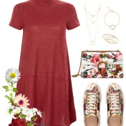 gucci garden exclusive collection - swing dress and satchel