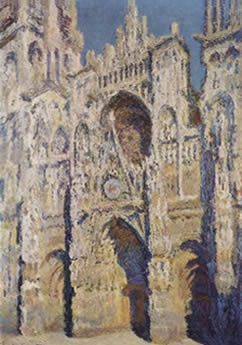 Rouen Cathedral, The Portal and The Tour D'Albane Morning Effect (1893)