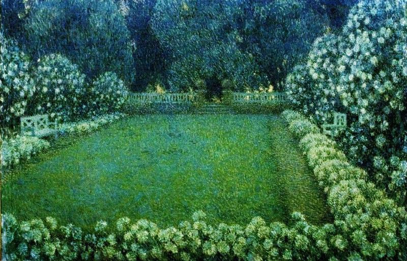 The White Garden at Dusk (1912)