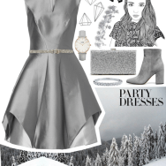 #polypresents: party dresses - satin in the new year