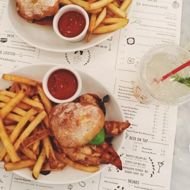 Jacks Wife Freda - Chicken Prego Sandwich & Fries