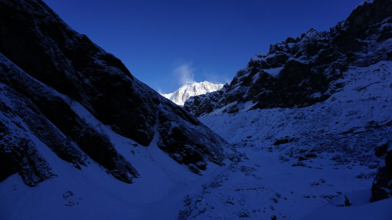 Annapurna South from MBC