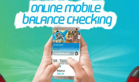 How To Check Online Mobile Balance, Check Online Mobile Balance