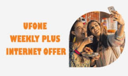 Ufone Weekly Internet Plus Package 2019