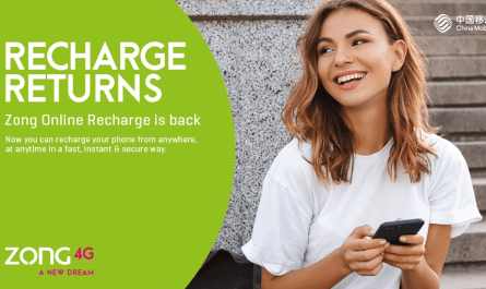 Zong Started Online Recharges Offer Again