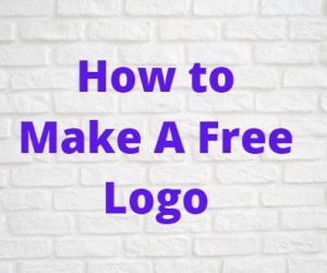 How to Make A Free Logo For Your Website