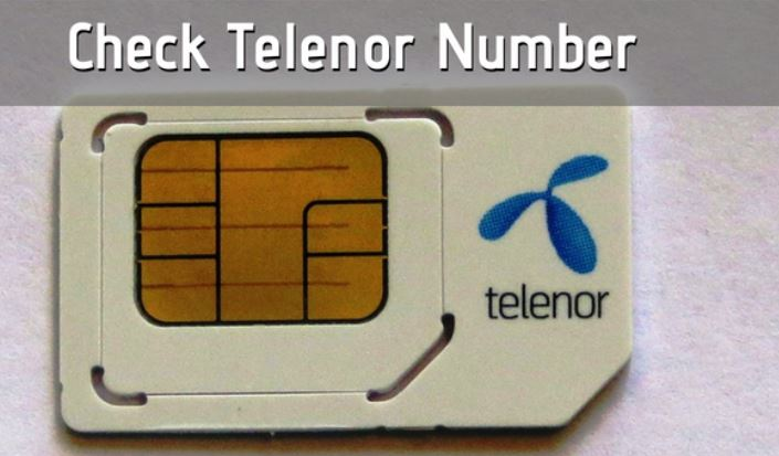 check telenor number how to 2021