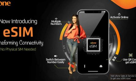 Ufone Launches Its First Ever ESIM in Pakistan