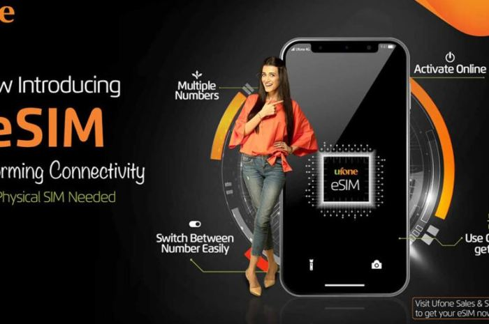 Ufone Launches Its First Ever Ufone ESIM in Pakistan