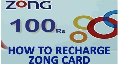 How to Recharge Zong Card