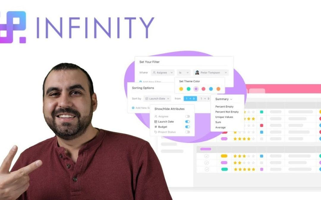 Infinity project management boards