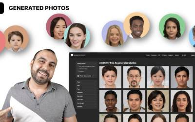 Realistic photo of people produced entirely by AI Generated Photo
