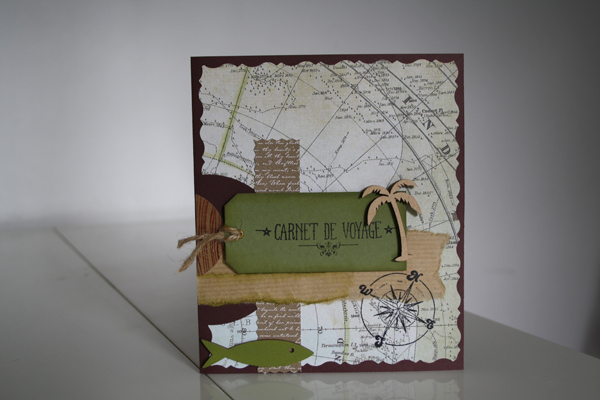 Carte bateau pop up