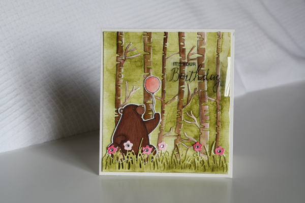 Un ourson pour ton anniversaire