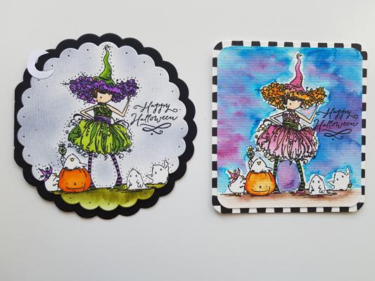 Les sorcieres d'halloween