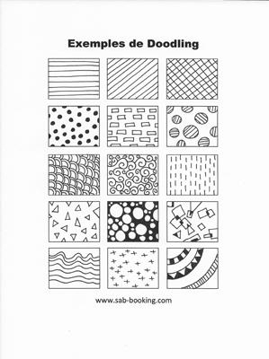 Technique facile : le Doodling