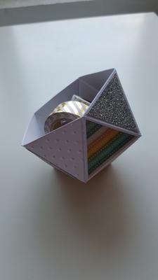 TUTORIEL scrapbooking : BOX BALL