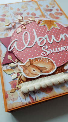 Tutoriel scrapbooking : Mini album hyper facile !