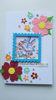 Carte à secouer : Joyeuses Pâques