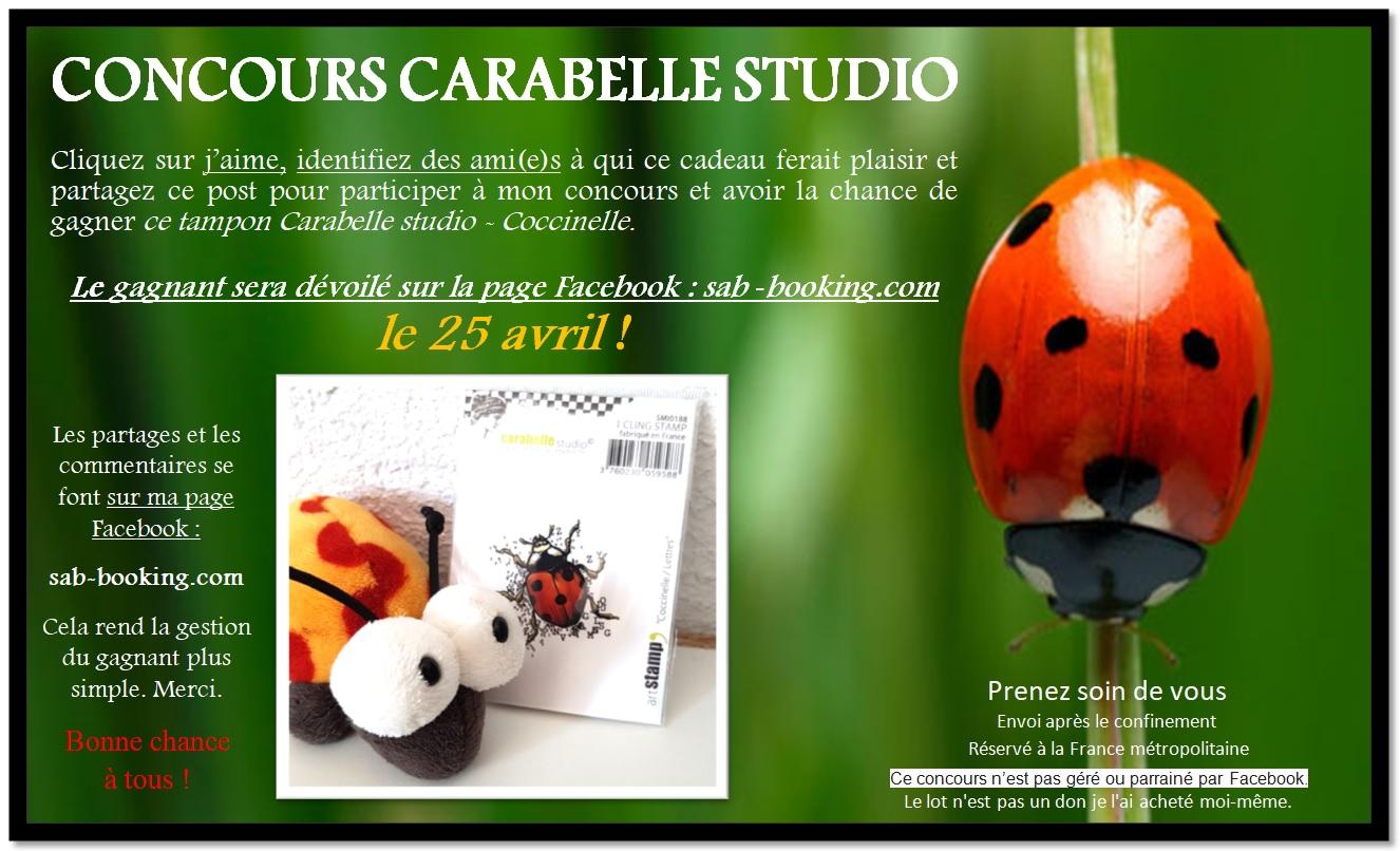 CONCOURS : Gagner un tampon «Coccinelle» de Carabelle Studio