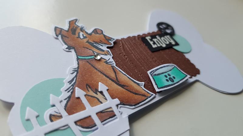 Un des nouveaux set de tampons Stampin'up – Pampered Pets