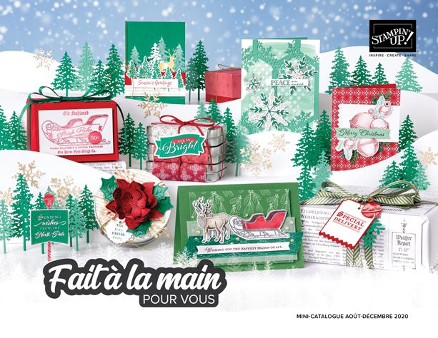 Mini catalogue Stampin'up – août/décembre 2020