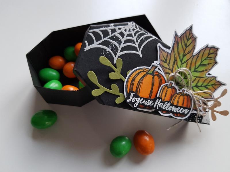 Boite à bonbons pour Halloween