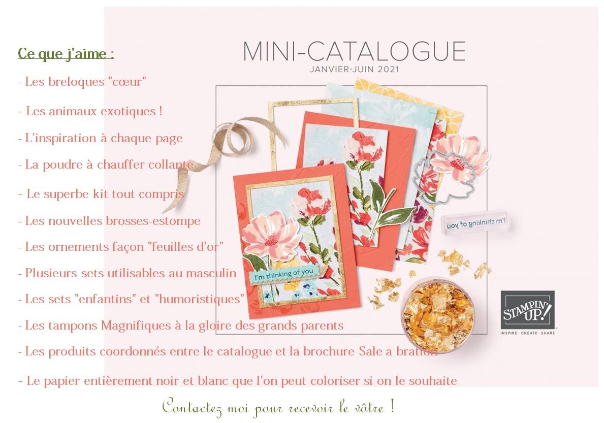 Nouveau catalogue : Ce que j'aime !