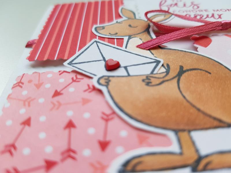 Un kangourou pour la Saint Valentin