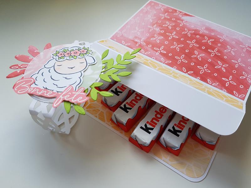 Tutoriel : Ma boite de chocolats pour Pâques
