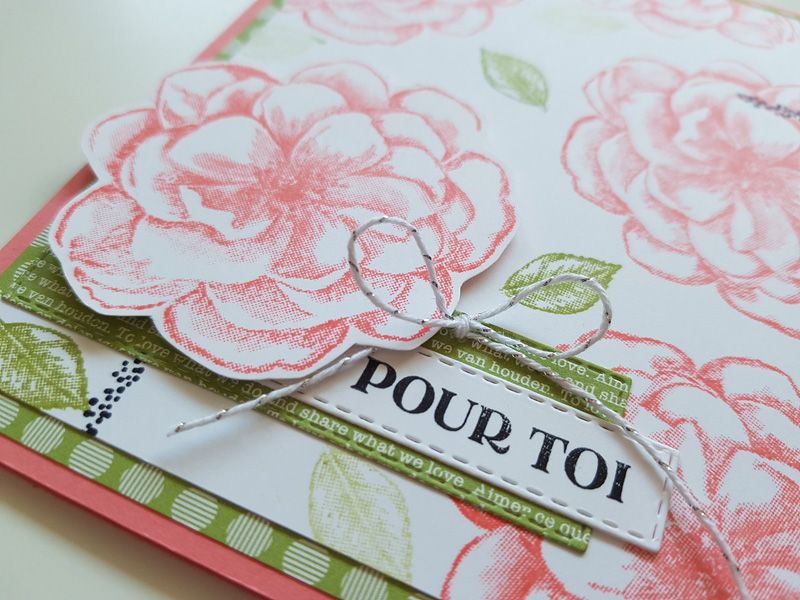 Alternative au kit «Rose sentimentale» + astuce