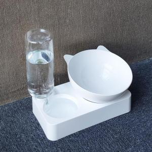 Cat Bowl With Water Dispenser