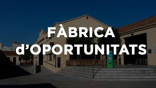Edifici Vapor Llonch Fabrica d'Oportunitats a Sabadell