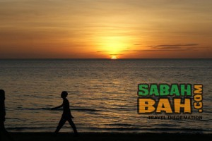 Sabah is known for beautiful sunsets all year round