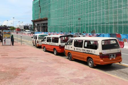 Public Transport in Kota Kinabalu, Sabah - Mini vans & Mini Buses