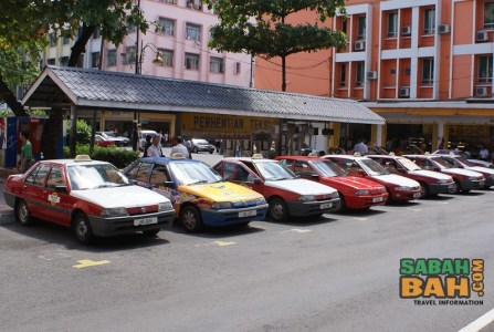 Taxis in Kota Kinabalu, Sabah