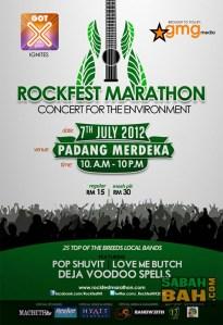 Rockfest Marathon III - Concert for the Environment taking place in Kota Kinabalu