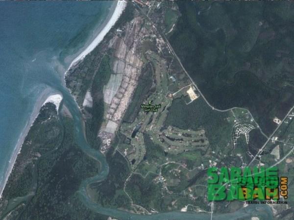 Mimpian Jadi Golf Course outside Kota Kinabalu, Sabah