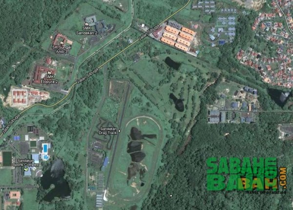 The Pamol Sabah Golf Club in Sandakan, Sabah