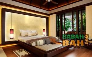 The proposed interior of the Gaya Island Resort in Kota Kinabalu, Sabah