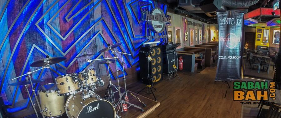 Hard Rock Cafe Kota Kinabalu, Oceanus Mall, Sabah, Borneo