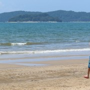 Tanjung Aru's First Beach in Kota Kinabalu, Sabah