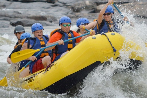 Book Padas River White Water Rafting in Sabah, Borneo (*Stock photo was not taken in Sabah, Borneo)