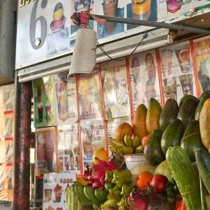 Fruit Juice Stall No.6 at First Beach Tanjung Aru, Kota Kinabalu, Sabah