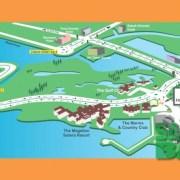 Route Map - Sutera Habour 7k Charity Sunset Run, Kota Kinabalu, Sabah