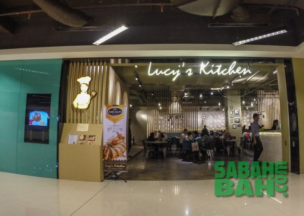 Lucy's Kitchen in Imago The Mall in KK Times Square, Kota Kinabalu, Sabah