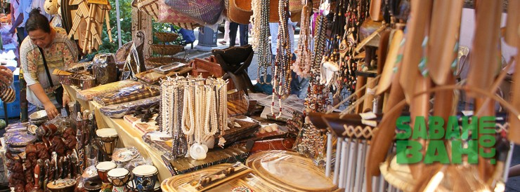 Gaya Street is an historic site and Sunday's the market is free to browse in Kota Kinabalu.