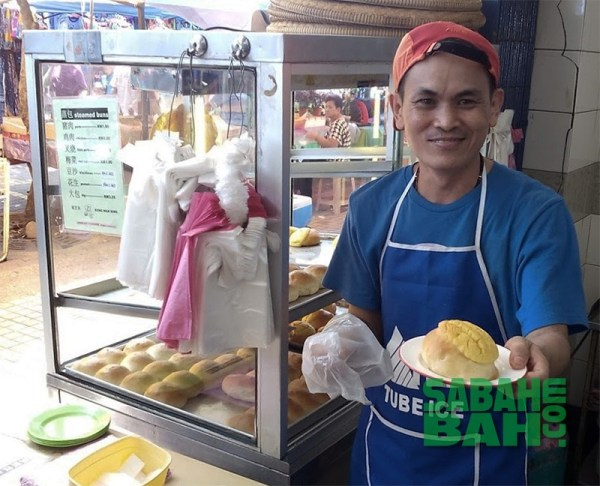 Keng Wan Hing Hot Buns, Gaya Street, Kota Kinabalu