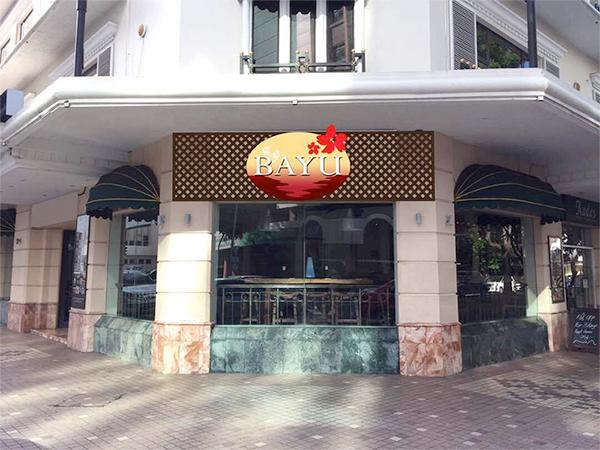 Bayu where Kudo used to be, Jesselton Hotel, Kota Kinabalu, Sabah, Borneo?